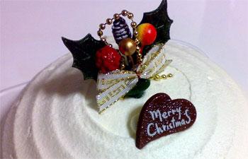 これは去年買ったケーキ