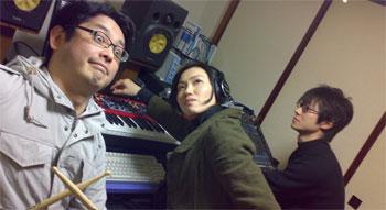furufuruスタジオにて